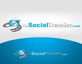 #158 para Logo Design for TheSocialTraveller.com por rogeliobello