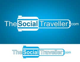 #148 para Logo Design for TheSocialTraveller.com por rogeliobello