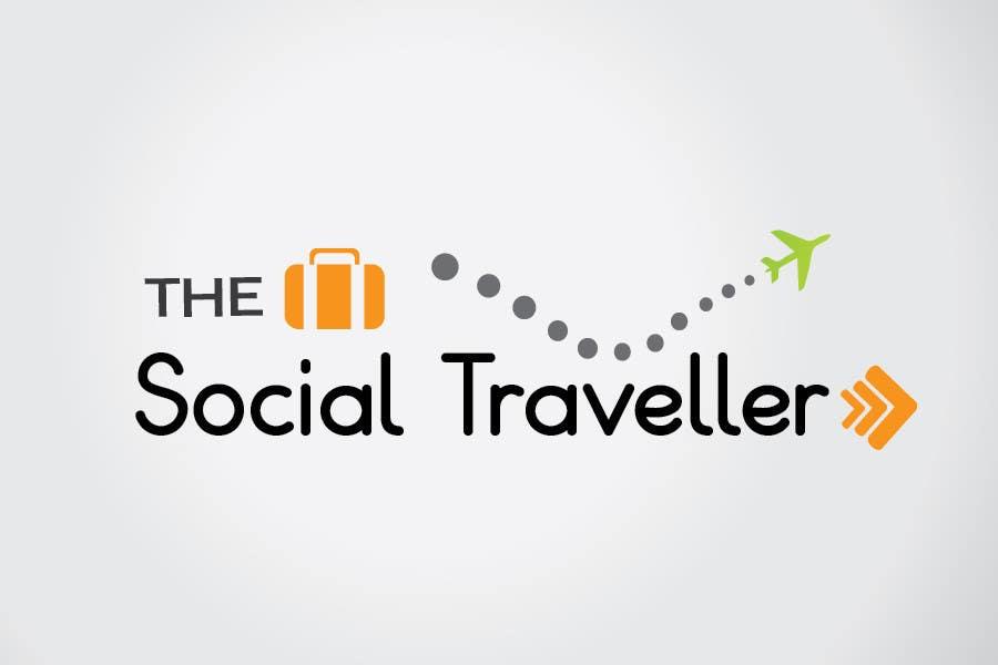 Zgłoszenie konkursowe o numerze #72 do konkursu o nazwie Logo Design for TheSocialTraveller.com