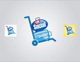 nº 102 pour Logo Design for TheSocialTraveller.com par ArteeDesign