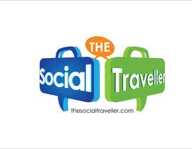 nº 66 pour Logo Design for TheSocialTraveller.com par ArteeDesign