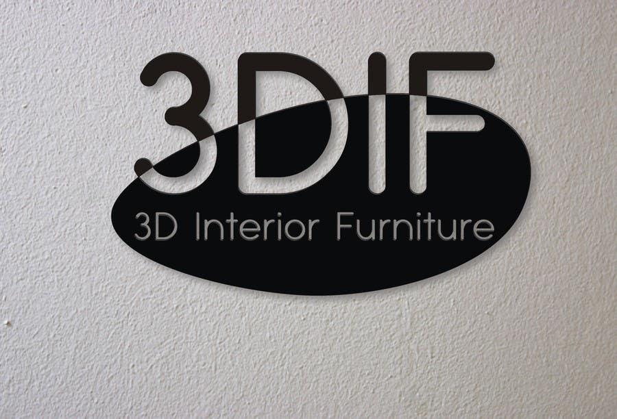 Contest Entry #7 For Design A Logo For 3D Interior Design U0026 Custom  Furniture Company