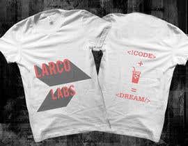 #67 untuk Design a T-Shirt for Larco Labs oleh NIRAVtheDESIGNER