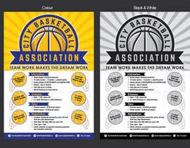 #4 untuk Design a Flyer for Basketball League oleh MMmahesh