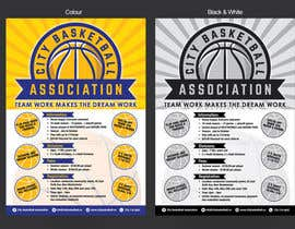 #6 untuk Design a Flyer for Basketball League oleh MMmahesh