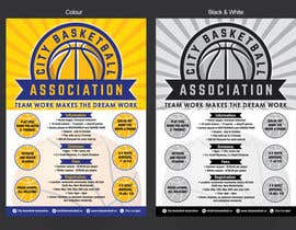 #7 untuk Design a Flyer for Basketball League oleh MMmahesh