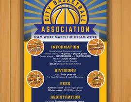 #20 untuk Design a Flyer for Basketball League oleh tenachico