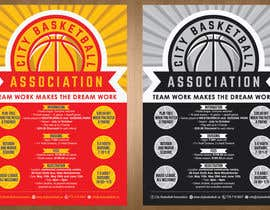 #18 untuk Design a Flyer for Basketball League oleh teAmGrafic