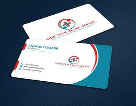 #48 untuk Design some Business Cards for High Tech Relief Center oleh ALLHAJJ17