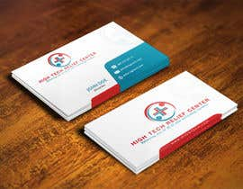 #60 untuk Design some Business Cards for High Tech Relief Center oleh mohanedmagdii