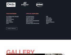 petrandrianov tarafından Website Redesign | V8 Supercars için no 3