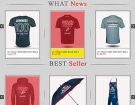 tonygarfield tarafından Website Redesign | V8 Supercars için no 5