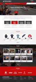 ankisethiya tarafından Website Redesign | V8 Supercars için no 8