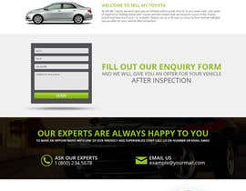 #26 untuk Design a Website Mockup for a car website oleh unguryanu