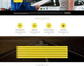 #1 untuk Design a Website Mockup for a car website oleh prodesign842