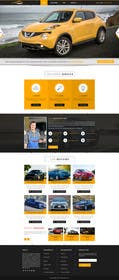 #28 untuk Design a Website Mockup for a car website oleh logodesire