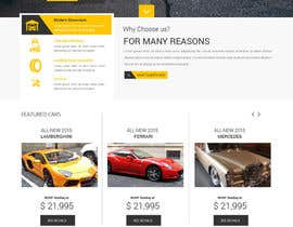 syrwebdevelopmen tarafından Design a Website Mockup for a car website için no 24