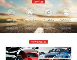 sauravT tarafından Design a Website Mockup for a car website için no 8