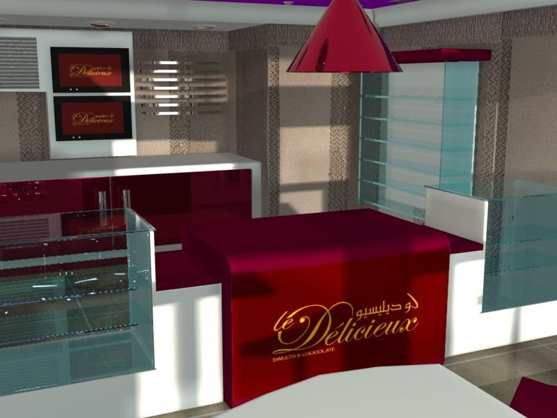Interior Modern Design For A Sweet Pastry Shop Freelancer