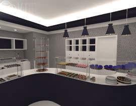 #20 untuk Interior modern design for a sweet/pastry shop oleh cecioconor