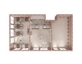#26 untuk Interior modern design for a sweet/pastry shop oleh fi6