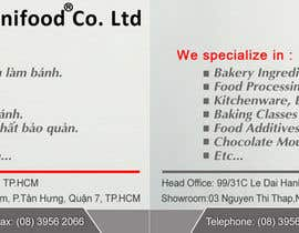 #5 for Design some Business Cards for Unifood by anhvacoi