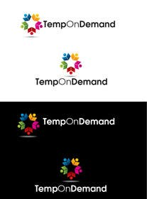 #146 untuk Design a Logo for Temporary Staffing app oleh Graphicsuite