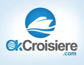 #262 para Logo Design for OkCroisiere.com de elitegraphics89