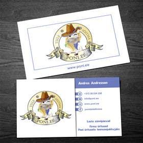 rzr9 tarafından Design Business Card for Poni.ee için no 7