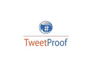 #55 untuk Design a Logo for Tweetproof oleh linadenk