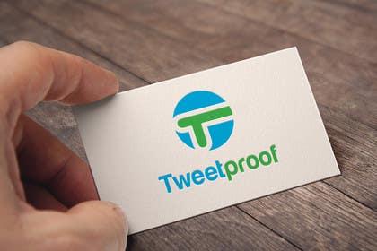 #45 untuk Design a Logo for Tweetproof oleh silverhand00099