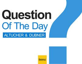 #119 untuk Design a Logo for QUESTION OF THE DAY PODCAST oleh hassanahmad93