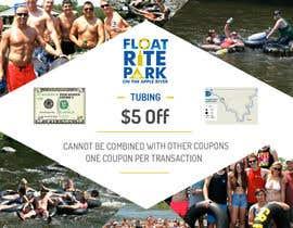 #14 untuk Design Simple $5 off Dropcard Coupon for Float Rite Park oleh massoftware