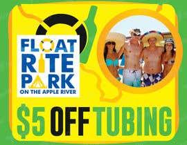 #17 untuk Design Simple $5 off Dropcard Coupon for Float Rite Park oleh avtoringUK