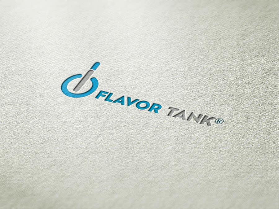 Proposition n°                                        23                                      du concours                                         Design a Logo for Flavor Tank