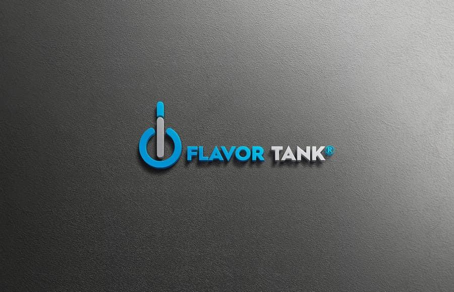 Proposition n°                                        25                                      du concours                                         Design a Logo for Flavor Tank