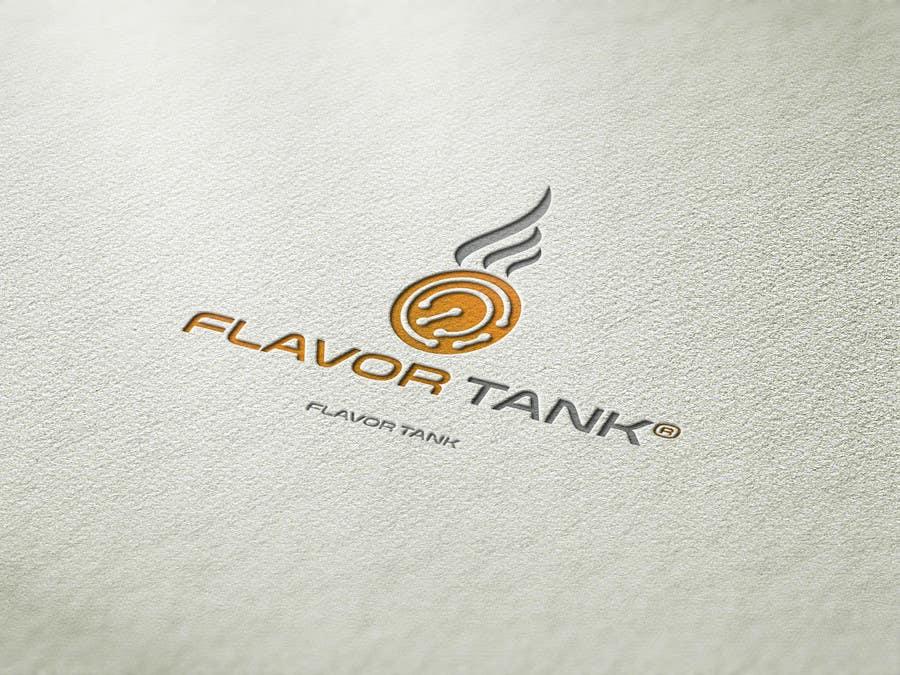 Proposition n°                                        53                                      du concours                                         Design a Logo for Flavor Tank
