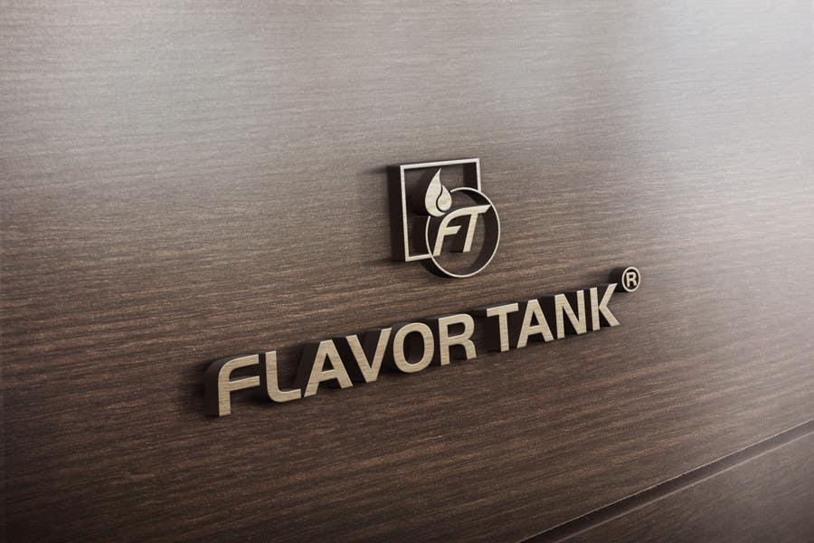 Proposition n°                                        55                                      du concours                                         Design a Logo for Flavor Tank