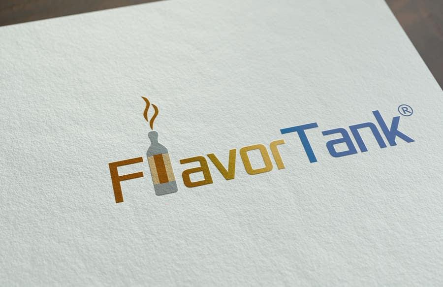 Proposition n°                                        85                                      du concours                                         Design a Logo for Flavor Tank