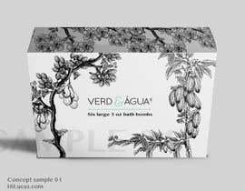 #4 untuk Create Print and Packaging Designs for a Bath Bomb Set oleh lucassales