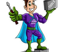 """#6 untuk """"Depot Man"""" - Superhero oleh jobin1"""