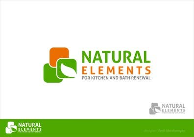 #29 for Design a Logo for Natural Elements for Kitchen and Bath Renewal by emilan