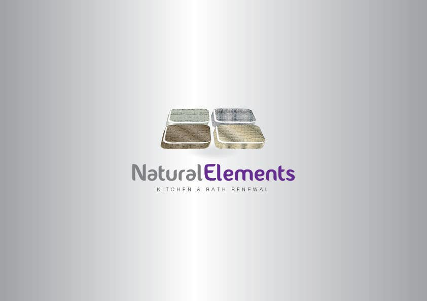 #60 for Design a Logo for Natural Elements for Kitchen and Bath Renewal by GeorgeOrf