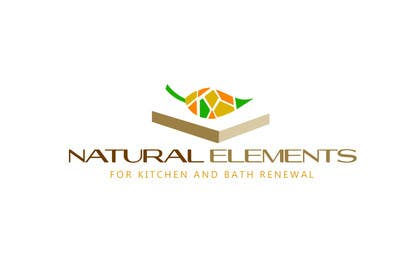 #49 for Design a Logo for Natural Elements for Kitchen and Bath Renewal by zetabyte