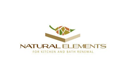 #63 for Design a Logo for Natural Elements for Kitchen and Bath Renewal by zetabyte