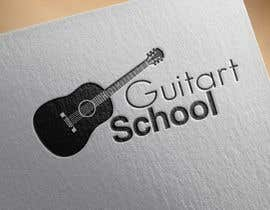 #46 for Design a Logo for a Guitar School by cristinaa14
