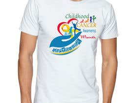"#46 untuk Design a T-Shirt For "" September Childhood Cancer Awareness Month "" oleh kamel1982"