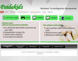 #20 dla Graphic Redesign: Front page of web app for nursery schools (PSD) przez Sirvan3TR
