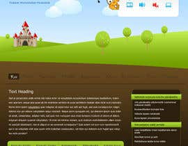 #7 for Graphic Redesign: Front page of web app for nursery schools (PSD) by axxxd