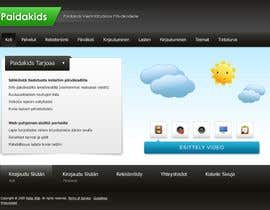 #18 for Graphic Redesign: Front page of web app for nursery schools (PSD) by axxxd